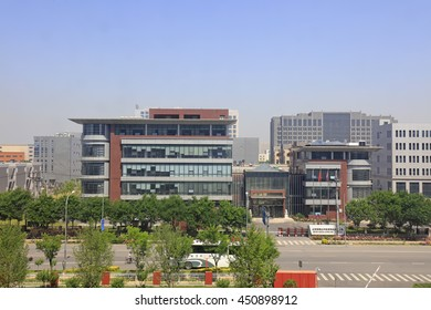 Beijing - May 17: business building in a trading company, May 17, 2016, Beijing, China