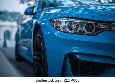 BEIJING   NOV 20, 2016: BMW M4 Coupe (F82), A High
