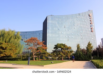 BEIJING - OCTOBER 6: The E world building in the ZhongGuanCun street, on October 6, 2012, Beijing, China.