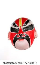 Beijing opera facial masks