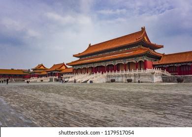 Beijing, Peking, Forbidden Palace, Forbidden City, China
