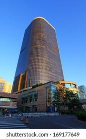 BEIJING - SEPTEMBER 14: Beijing central business district CBD landmarks - international trade the third phase of the building, on september 14, beijing, china.