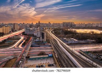 Beijing urban architecture landscape