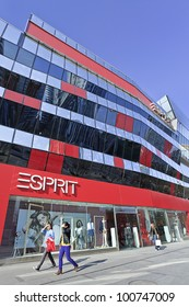 BEIJING-APRIL 4, 2012. Esprit store at Village shopping area Beijing on April 4, 2012. Esprit has 770 retail stores worldwide with 1.1 million square meters floor space and sales of EUR 3.25 billion.