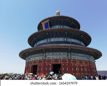 Beijing/China - May 1, 2019: Temple of Heaven