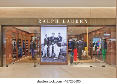 BEIJING-JANUARY. 25, 2014. Ralph Lauren outlet. Recent years China was the engine of the world's luxury goods industry, but a weakening in economic growth and bribery crackdown will temper demands.