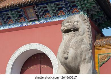 beiling park of shenyang china