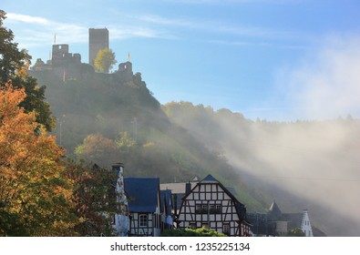 Beilstein ... the best place on the Moselle River (Mosel). Rhineland-Palatinate, Germany.
