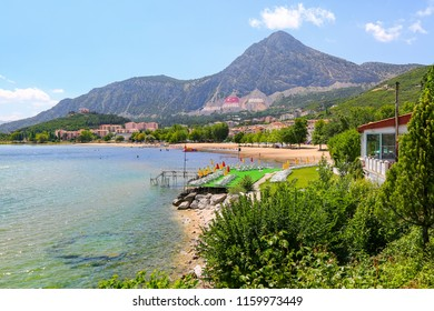 Being pretty close to the city, you can also find shopping markets and buffets near the Altinkum Beach. June 2018 Egirdir, Isparta-Turkey