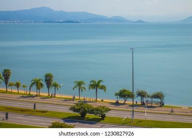 Beira Mar Avenue at Florianopolis city - Florianopolis, Santa Catarina, Brazil