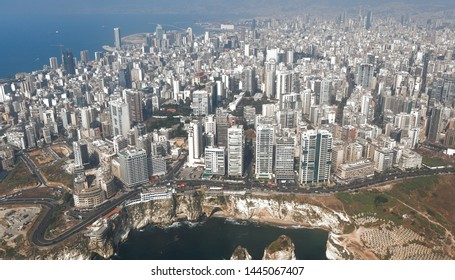 Beirut - Aerial View of the City