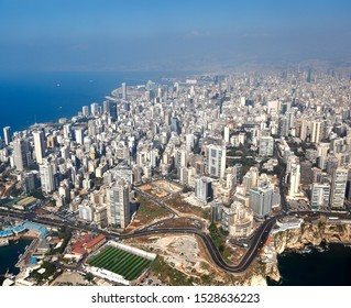 Beirut, Aerial View of the city - Lebanon