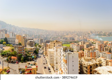Beirut, the capital and largest city of Lebanon.