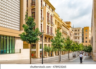 BEIRUT, LEBANON - August 15: Beirut City at Beirut Souks in Beirut, Lebanon on August 15, 2016.
