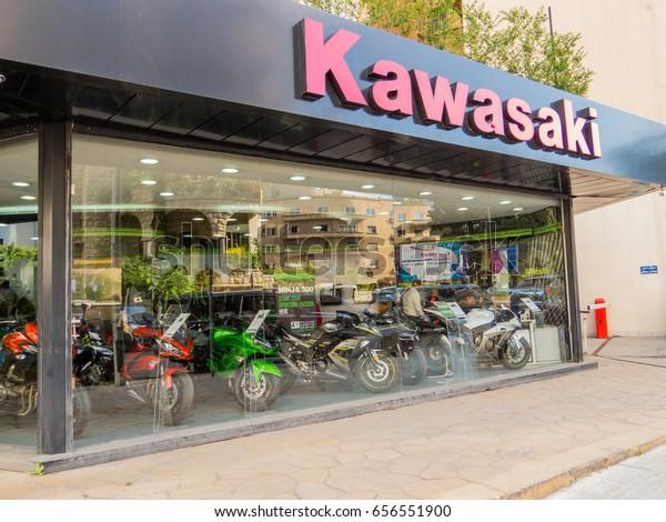 Beirut Lebanon May 24 2017 Kawasaki Stock Photo (Edit Now
