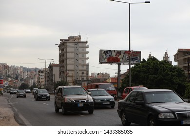 Beirut, Lebanon- Syria's neighboring border, Lebanon, is one of the countries receiving the most immigration due to the Syrian war. A view from the capital Beirut. July 21, 2012.