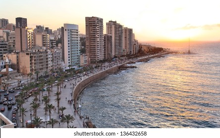 Beirut at Sunset (Lebanon)