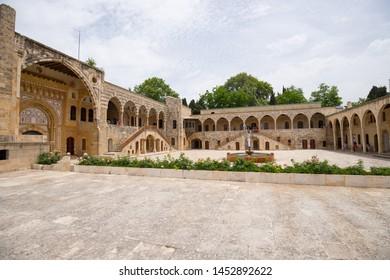 Beiteddine Palace,  a 19th-century palace in Beiteddine, Lebanon - June, 2019