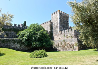BEJA, PORTUGAL - May 9, 2014: The Castle of Beja, a medieval castle in the Portuguese city of Beja, in the Alentejo region.