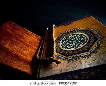 Bekasi, Indonesia - January 19th, 2021 - Quran is our holy book for Muslims