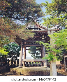 Bel at the Temple, the picture was taken at Hekinan shi