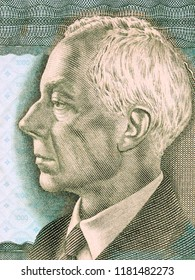Bela Bartok portrait from Hungarian money