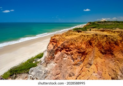 Bela beach, Conde, near Joao Pessoa, Paraiba, Northeast coast of Brazil.