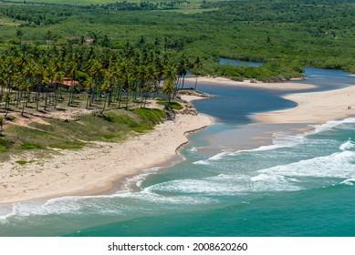 Bela beach, near João Pessoa, Paraiba, Brazil on March 10, 2010.