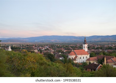Bela Crkva is a town and municipality in the South Banat District of Vojvodina, Serbia.Panorama, sunset sky.