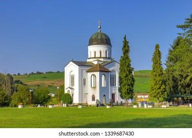 Bela crkva - White church near Krupanj in Serbia