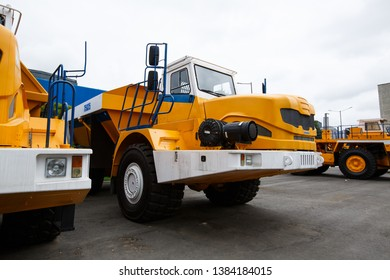"""Belarus April 10, 2019 """"BELAZ"""" - """"BELAZ-HOLDING"""" — the world's largest manufacturer of dump trucks of large and extra-large capacity, as well as other heavy transport equipment used in the mining"""