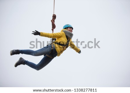 Belarus Gomel March 08 2019 Jumping Stock Photo (Edit Now