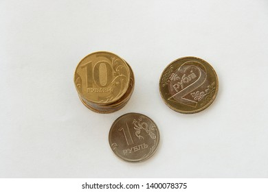 Belarusian ruble and Russian rubles