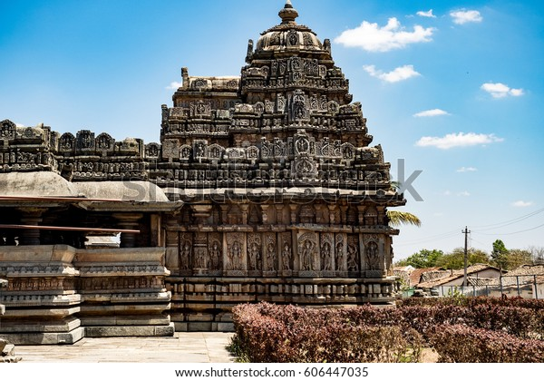 Belavadi Temple. One of the many ancient temples in the karnataka region