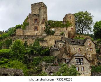 Belcastel medieval village