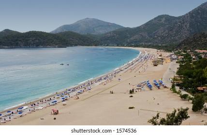 Belcegiz Beach, Olu Deniz, Turkey