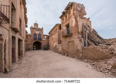 Belchite is a municipality of the province of Saragossa, Spain. It is known for having been a scene of one of the symbolic battles of the Spanish Civil war, Belchite's battle.