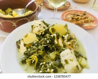 Beldroegas soup, Alentejo cuisine of Portugal
