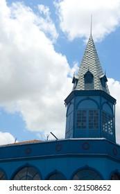 Belem, Brazil - November 18, 2015: Belem do Para city, ver o peso market tower, north of Brazil .