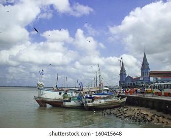 Hafen und Markt von Belem - Brasilien