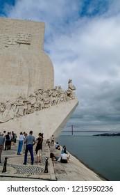Belem, Portugal. August 29, 2018. Belem Tower, Portugal.