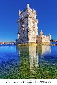 Belem tower at Lisbon, Portugal.
