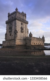The Belem Tower (Torre de Belem), Lisbon, Portugal