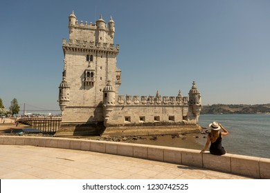 Belem Tower or '' Torre de Belem '' is very attractive for tourists in Lisbon.It is a UNESCO world haritage site.