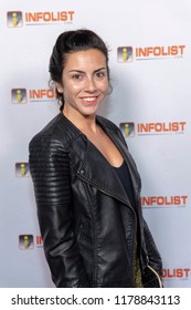 Belen Rosenberg attends INFOLIST PRE-EMMYS SOIREE  at Skybar at the Mondrian Hotel, West Hollywood, California on September 12th, 2018