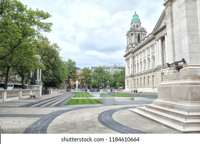 Belfast City Hall is the civic building of Belfast City Council located in Donegall Square, Belfast, Northern Ireland