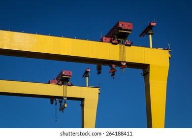 Belfast Cranes
