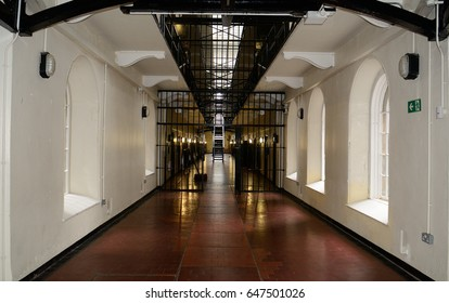 BELFAST, NORTHERN IRELAND - APRIL 23: The Crumlin Road Gaol 23 April, 2017 at Belfast. The Crum was one of the most secure prison in Belfast until 1996, when it was closed.
