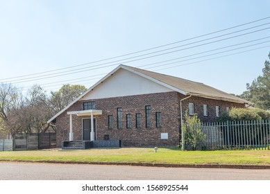 BELFAST, SOUTH AFRICA - MAY 22, 2019: The Free Mason Lodge in Belfast in Mpumalanga