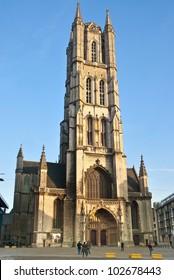 """""""Belfried"""" church Ghent, Belgium"""
